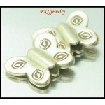 5x Hill Tribe Silver Karen Jewelry Findings Butterfly Beads [KB065]