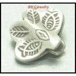 3x Butterfly Hill Tribe Silver Beads Thai Jewelry Supplies [KB013]