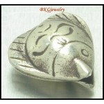 1x Jewelry Findings Wholesale Fish Hill Tribe Silver Beads [KB011]
