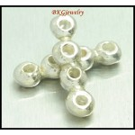 5x Wholesale Hill Tribe Silver Beads Thai Jewelry Findings [KB042]