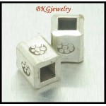 10x Hill Tribe Silver Beads Jewelry Supplies Wholesale Spacer [KB023]