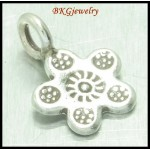 5x Star Hill Tribe Silver Engrave Charms Jewelry Supplies [KC027]