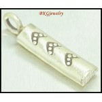 2x Wholesale Jewelry Findings Hill Tribe Silver Stick Charms [KC042]