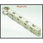 3x Stick Charms Jewelry Findings Hill Tribe Silver Wholesale [KC052]