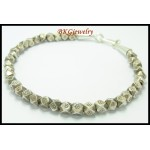 Wholesale Handcrafted Bracelet Hill Tribe Silver Beads [KH079]