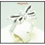 Electroforming 925 Sterling Silver Dragonfly Fashion Ring [MR135]
