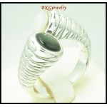 Semi-Precious Ring Wholesale Sterling Silver Electroforming [MR143]
