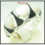 Fashion 925 Sterling Silver Semi-Precious Ring Electroforming [MR144]