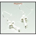 Jewelry Electroforming 925 Sterling Silver Dangle Earrings [ME035]