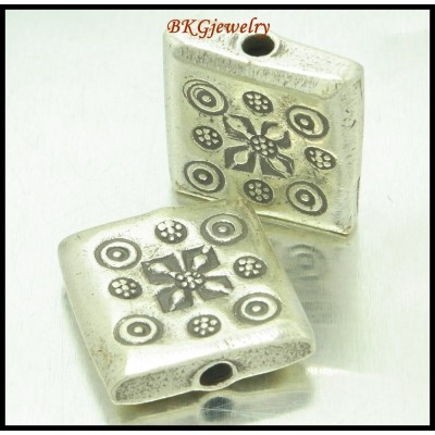 1x Hill Tribe Silver Karen Jewelry Findings Wholesale Beads [KB085]