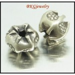 10x Wholesale Spacer Jewelry Findings Hill Tribe Silver Beads [KB052]