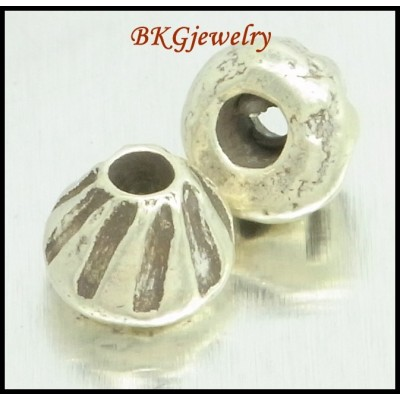 10x Jewelry Findings Hill Tribe Silver Wholesale Beads Spacer [KB055]