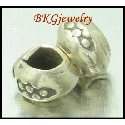 10x Jewelry Supplies Wholesale Spacer Hill Tribe Silver Beads [KB067]
