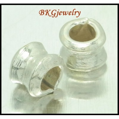 10x Wholesale Spacer Beads Jewelry Supplies Hill Tribe Silver [KB079]