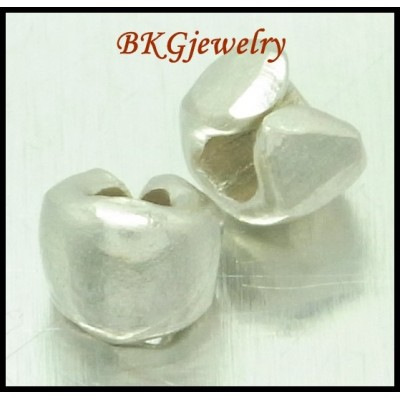 10x Hill Tribe Silver Jewelry Findings Spacer Beads Wholesale [KB080]