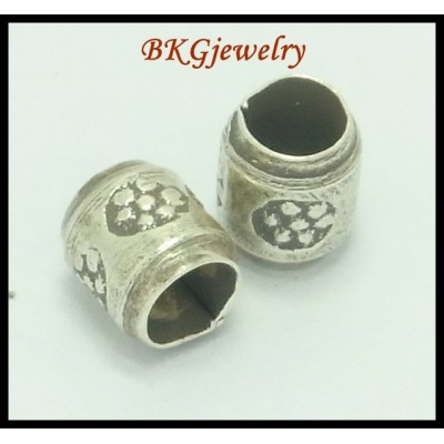 10x Jewelry Findings Wholesale Karen Hill Tribe Silver Beads [KB004]