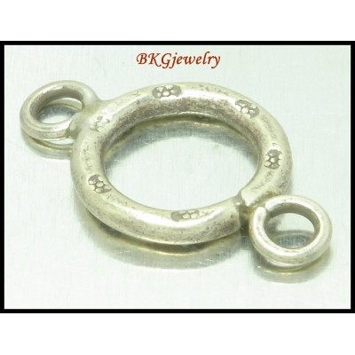 5x Karen Hill Tribe Silver Couple Loop Jewelry Supplies [KH189]