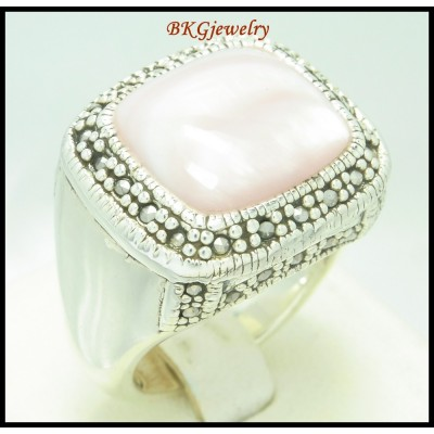 Wholesale Marcasite 925 Sterling Silver Electroforming Ring [MR114]