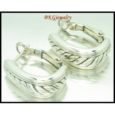Wholesale Clip-On Earrings Electroforming 925 Sterling Silver [ME155]
